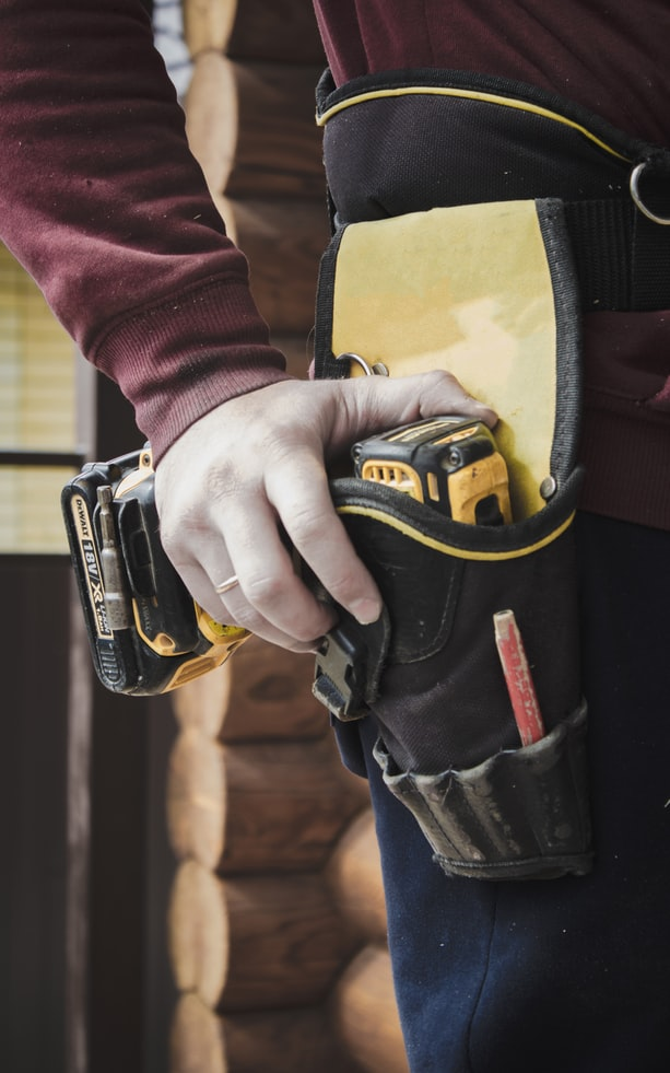 close up of an electricians' tools